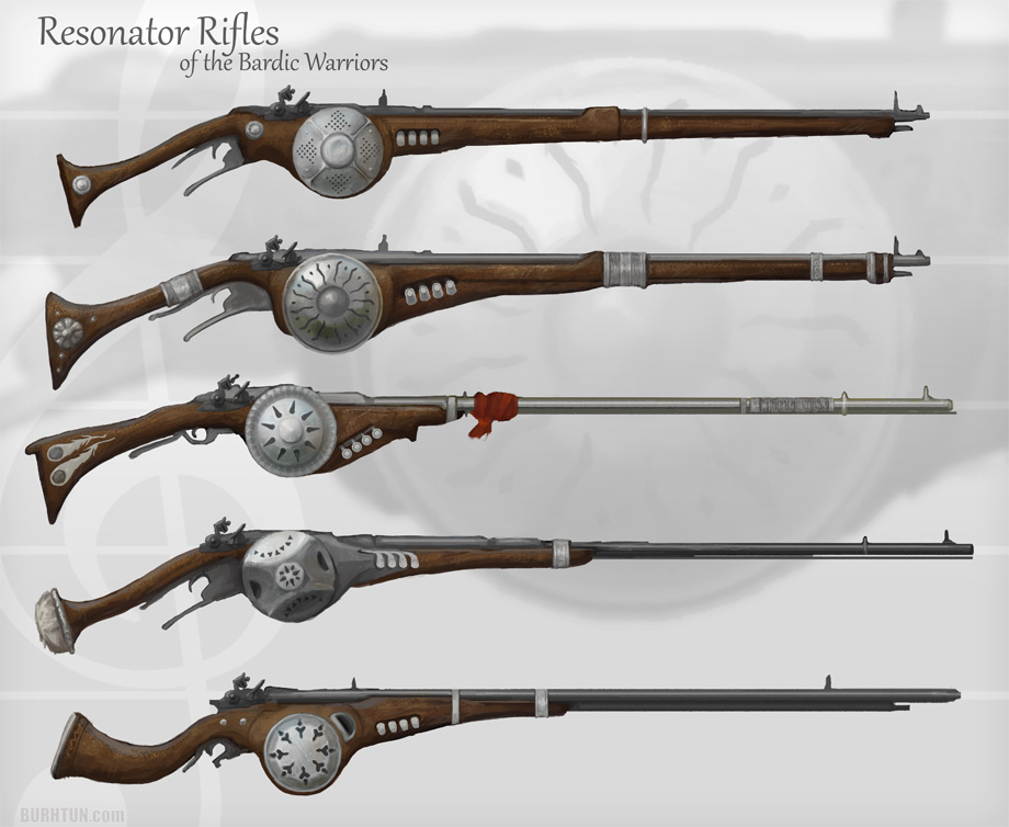 Resonator Rifle Concept